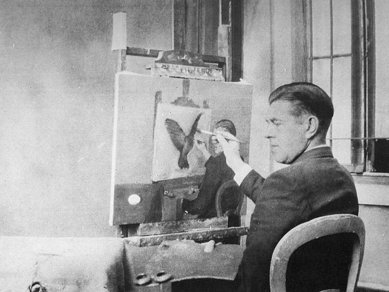 Rene Magritte-La Clarividencia.jpg