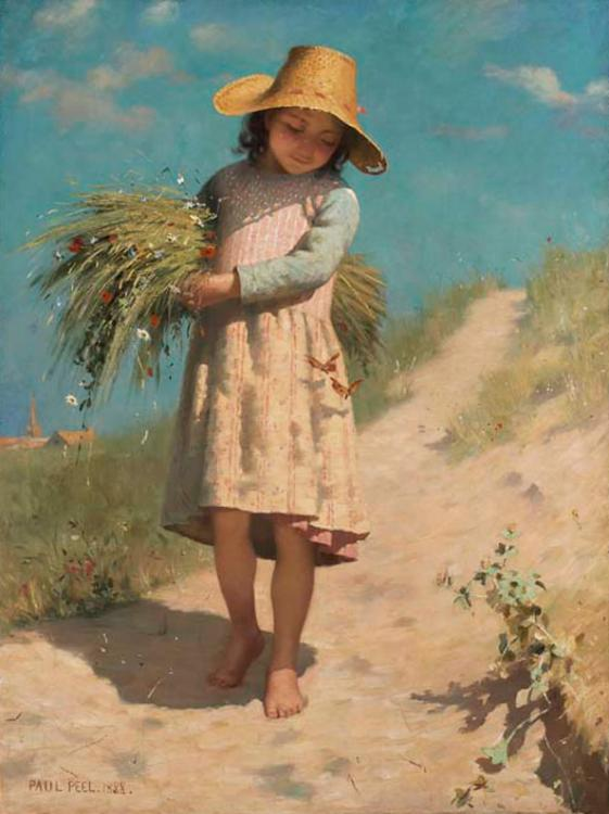Young Gleaner - Paul Peel.jpg
